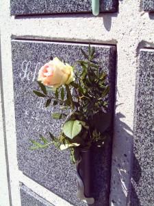 Urnengrab Foto: Margarete Rosen