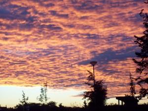 Herbst-Himmel Foto: Margarete Rosen