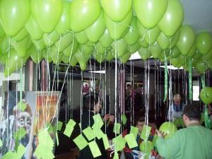 300 Ballons fürs Kinderhospiz Foto: Margarete Rosen