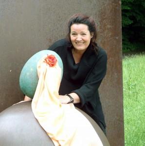 Urnenherstellerin und Künstlerin Rita Capitain, Foto: Rita Capitain