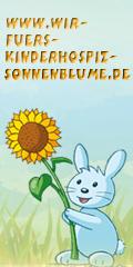 Sungura mit der Sonnenblume