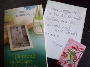 Demenz für Anfänger von Zora Debrunner Foto: Margarete Rosen