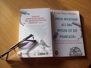 Noch wichtiger als das Wissen ist die Phantasie von Ernst Peter Fischer
