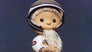 Der Sandmann im Kosmonautenanzug