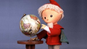 Der Sandmann bringt kleinen Leuten die Gute-Nacht-Geschichten. Foto auf der Webseite
