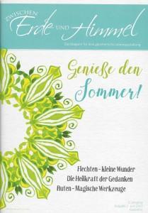 """Magazin """"Zwischen Erde und Himmel"""" Sommer 2017"""